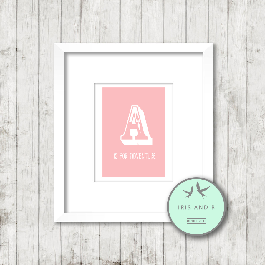 Prints for Girls Rooms